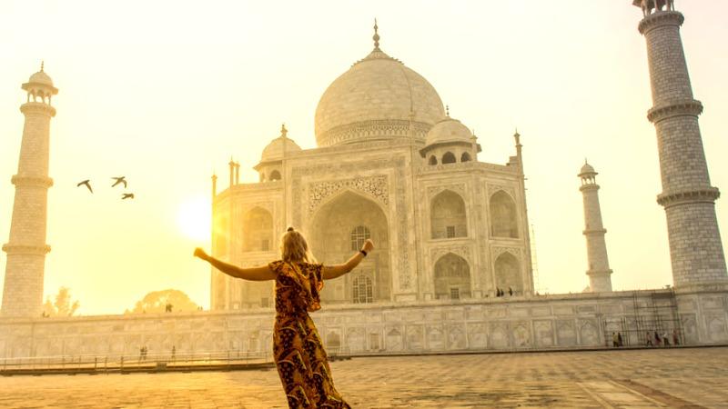 vestir en la india